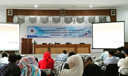 Workshop Peningkatan Kompetensi  Tenaga IT PTS