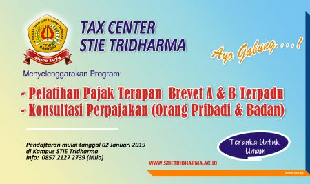 TAX Center STIE Tridharma